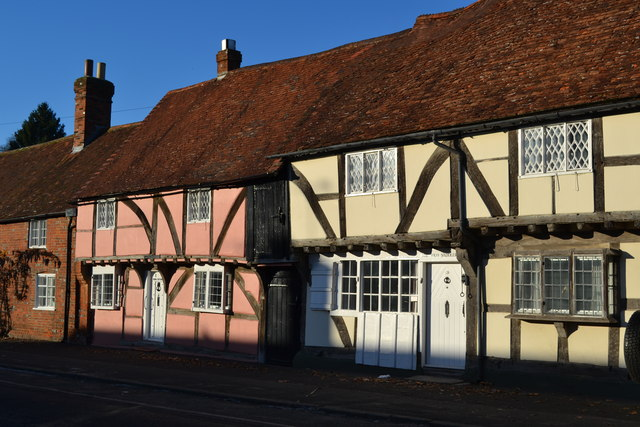Timber-framed cottages, Hursley