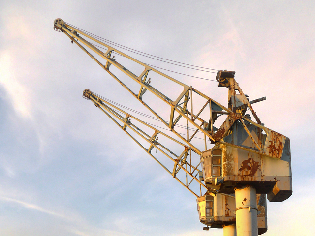 Old Dockyard Cranes at Salford Quays