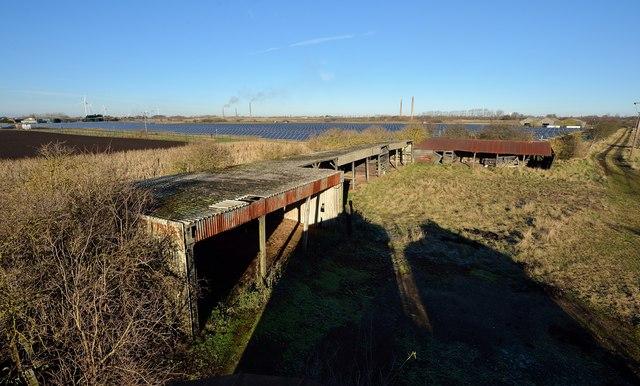 Solar farm, Reach Drove, Whittlesey