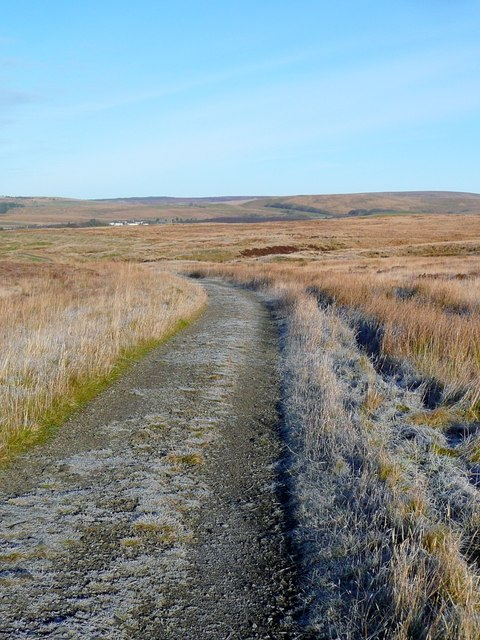 The old  Muirkirk to Sanquhar drove road