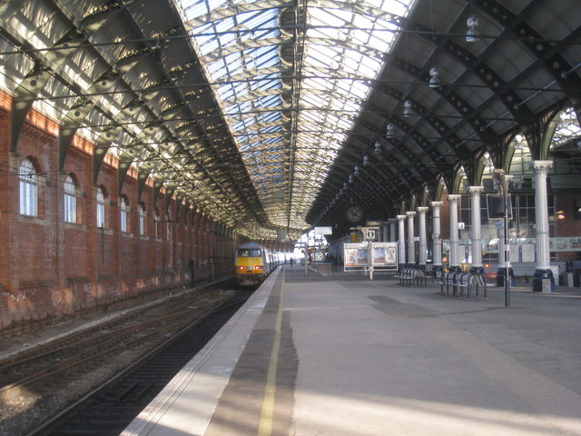 Platform 4, Darlington Bank Top Station