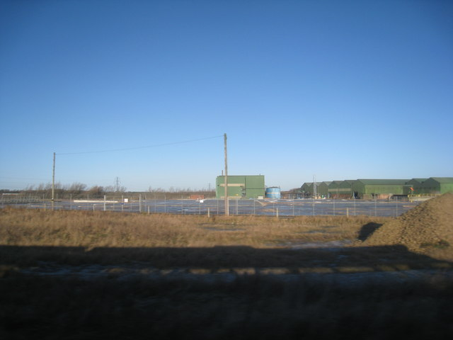 Industrial site, Urlay Nook