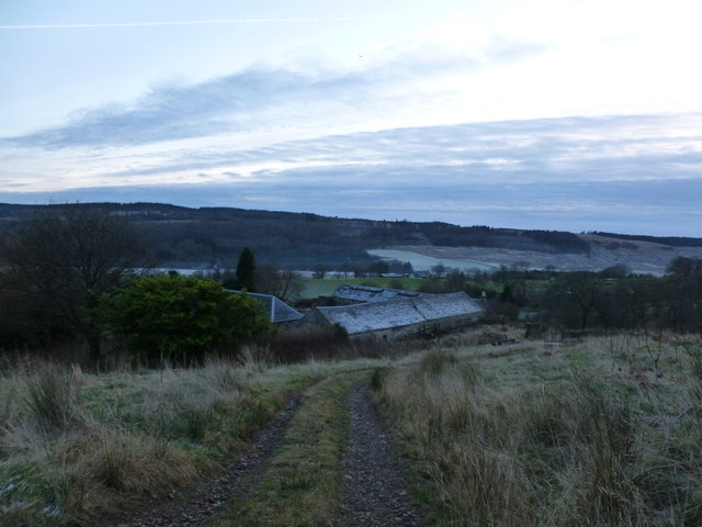 Disused steading at Knowehead