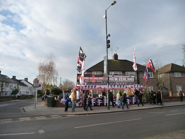Twickenham on match day [2]