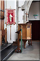 TQ4191 : St Barnabas, Woodford Green - Pulpit by John Salmon