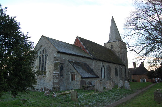 St Nicholas' church, Pluckley