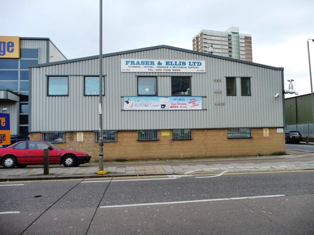 Fraser &amp; Ellis Ltd, Lombard Road