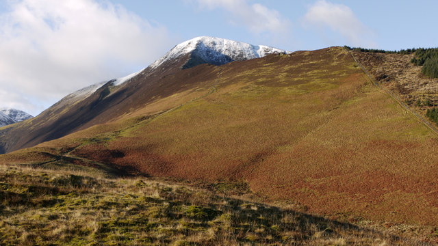 East ridge of Grisedale Pike
