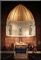 TQ2176 : St Michael &amp; All Angels, Barnes - Apse by John Salmon