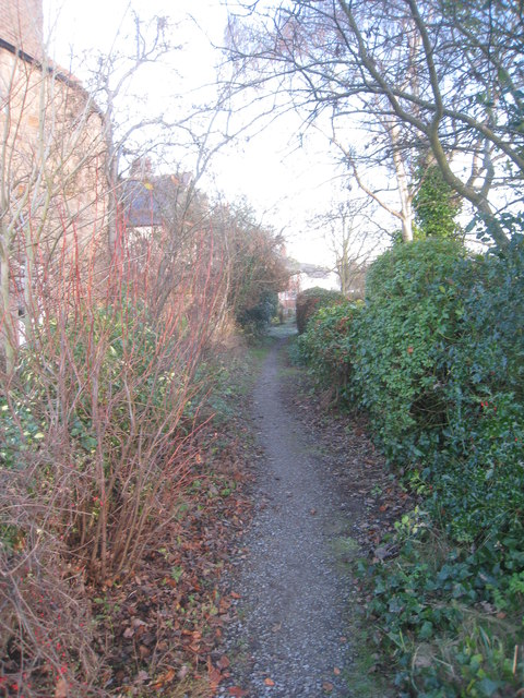 Path to Stagshaw Road