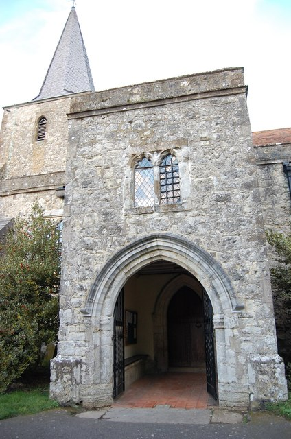 South Porch, St Nicholas' church, Pluckley