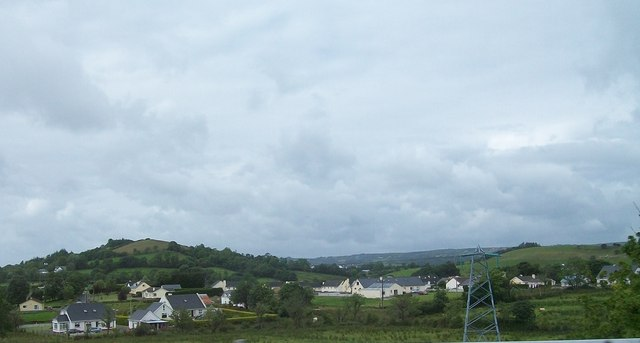 Urban sprawl south of Donegal Town