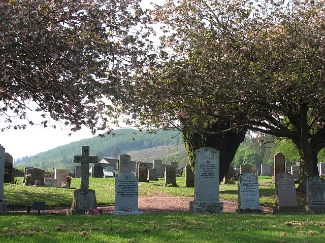 Cemetery, Logierait