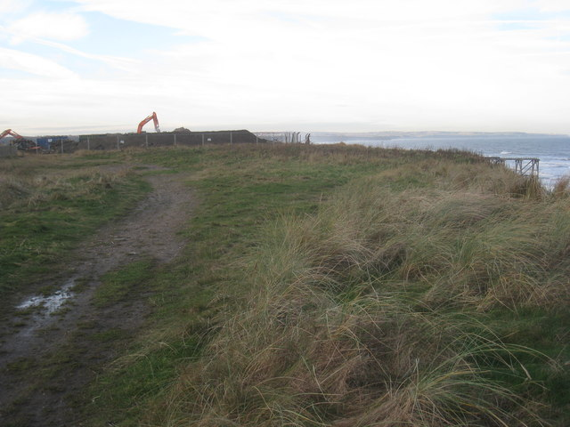 Cliff top and demolition