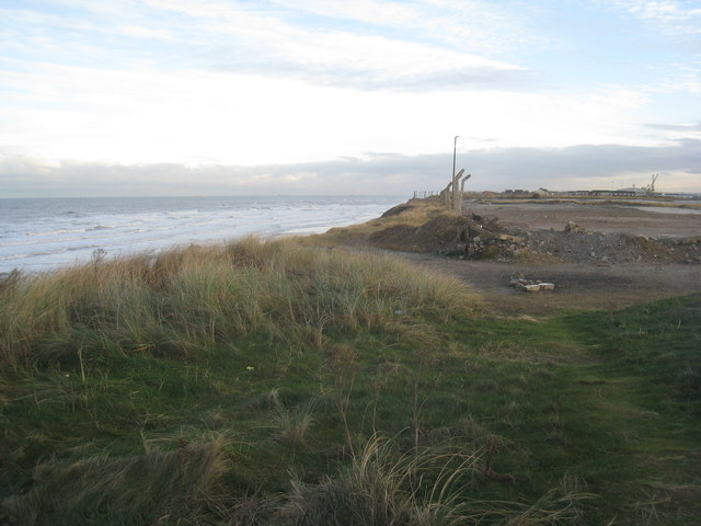 The top of the dunes