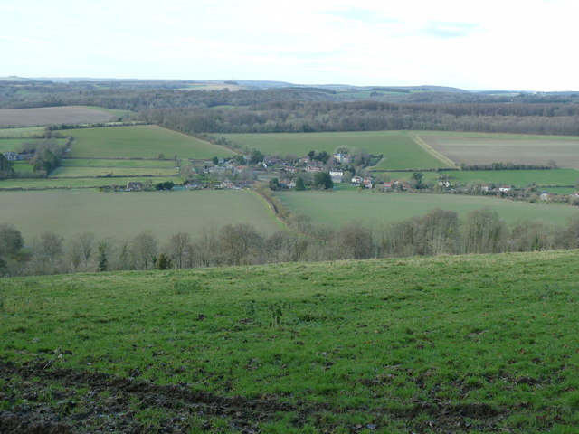 View NE from edge of access woodland