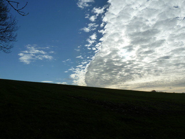 Cloud over Adsdean Down