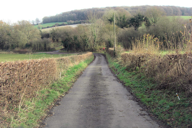 Vinnels Lane approaches dismantled railway crossing