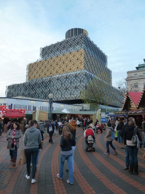 Birmingham - new library