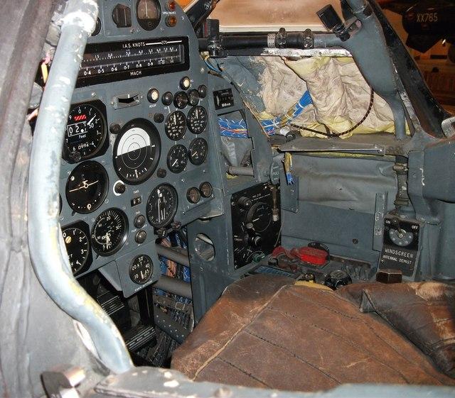 Bristol 188 cockpit