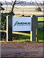 TL3163 : Avenue Business Park sign by Adrian Cable