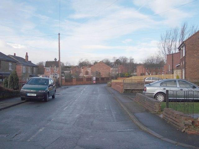 Chapel Lane - viewed from Trueman Avenue