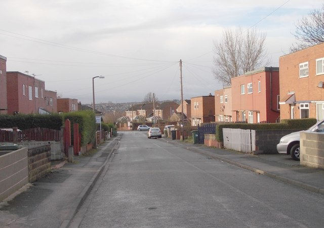 Chapel Avenue - looking towards Chapel Lane