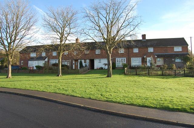 Houses on Carter's Wood, Hamstreet