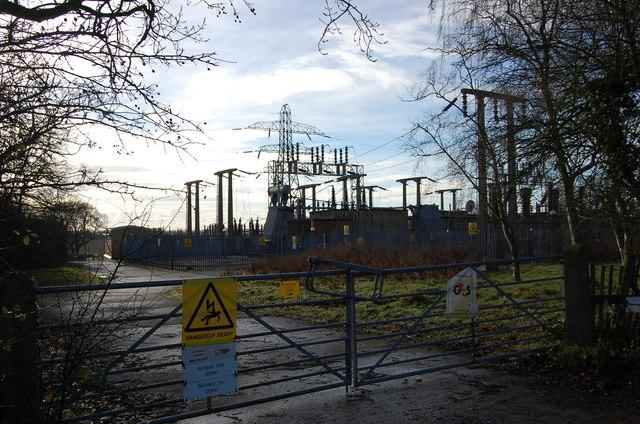 Ruckinge Electricity Substation