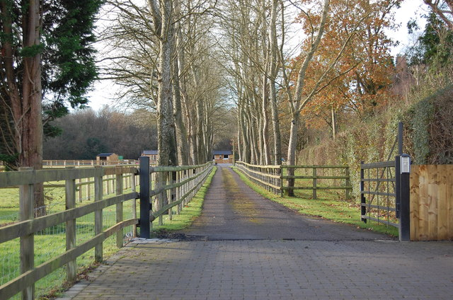 Drive to Ladswood Farm