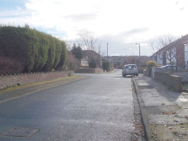 Crowther Road - looking towards Trueman Avenue
