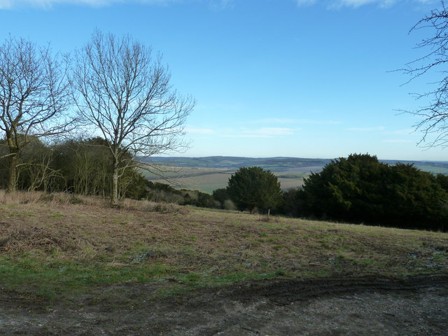 View east from Bow Hill