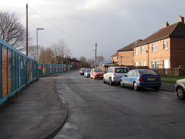 Dale Lane - viewed from Fairfield Avenue