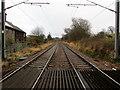 SE1546 : Wharfe Valley Railway Line near Burley by Chris Heaton