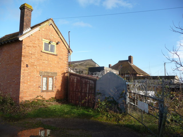 Rear of a property off Holloway, Pershore
