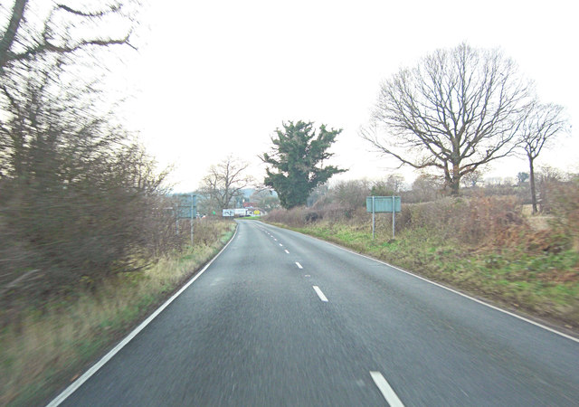 A272 approaches junction with A32