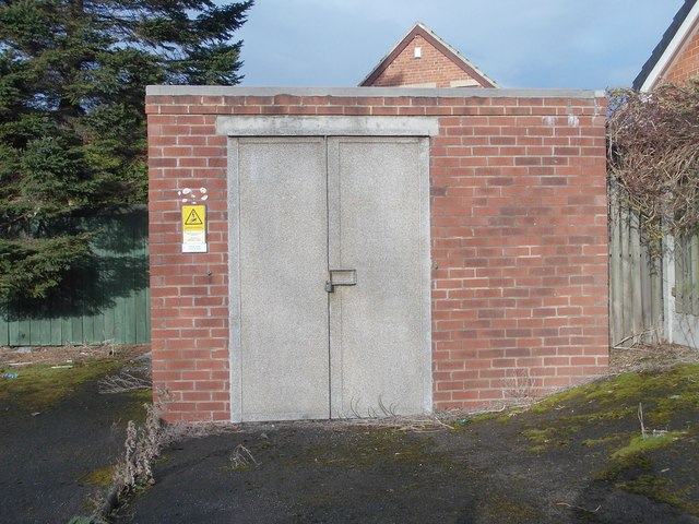 Electricity Substation No 1543 - Dale Lane