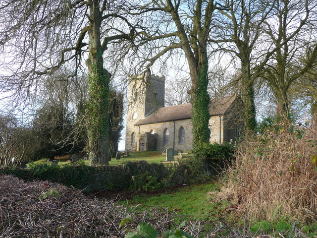 Doddington church, Shropshire
