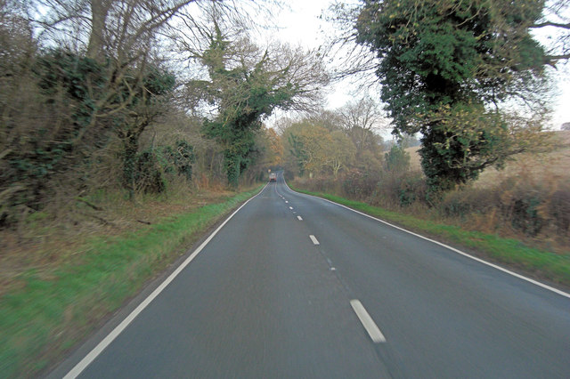 A32 north of Basing Home Farm
