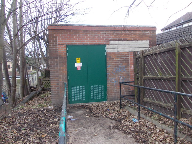 Electricity Substation No 5563 - White Lee Road