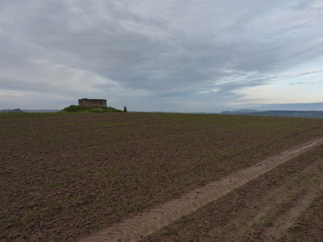 The summit of Aston Hill