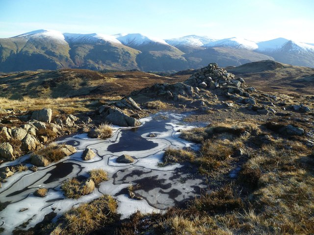Ice Patterns, Bleaberry Fell