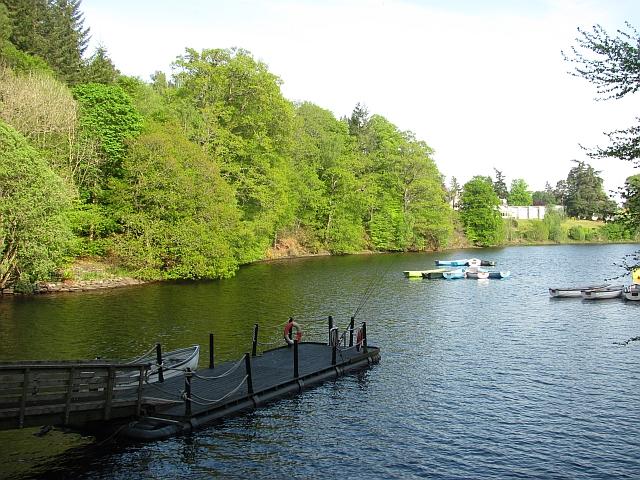 Pier, Loch Fascally
