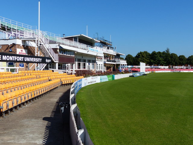Grace Road cricket ground in Aylestone