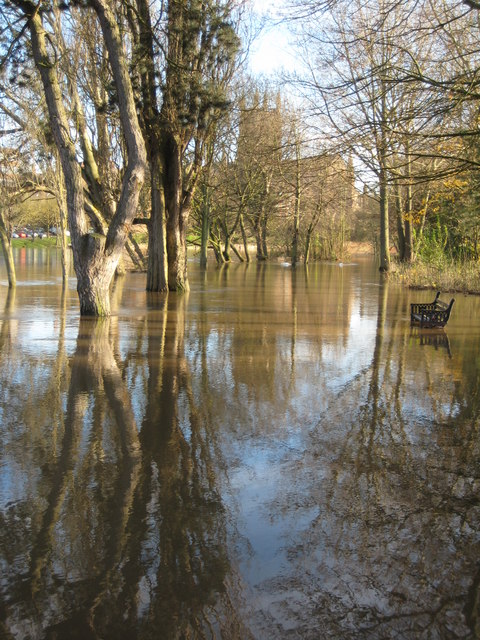 A flooded Bromwich Parade