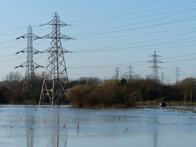 Flooding on the Aylestone Meadows