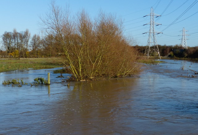Flooding along the River Biam