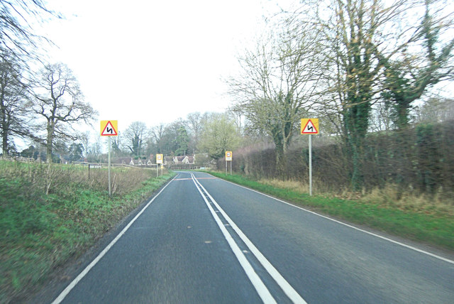 A32 enters East Tisted