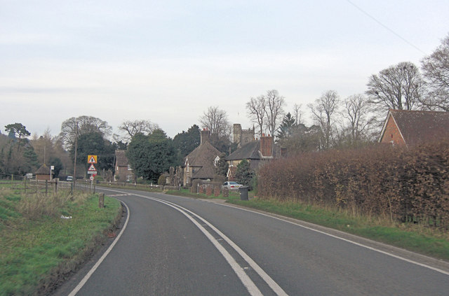 A32 passes through East Tisted