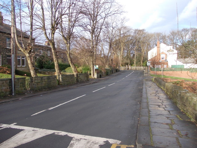 West Park Road - viewed from Deighton Lane